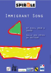 affiche Immigrant song